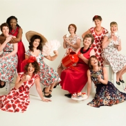 Photographer : Julia Boggio for breast cancer care - Lady V London Dresses